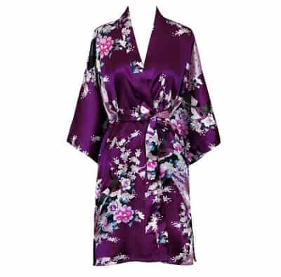 silky kimono